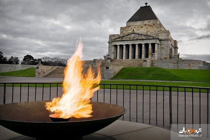 بنای یادبود جنگ ملبورن، عکس