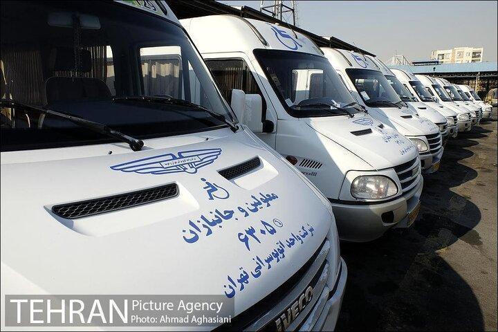 خدمات رسانی 141 دستگاه اتوبوس و وَن ویژه به 4 هزار جانباز و معلول پایتخت