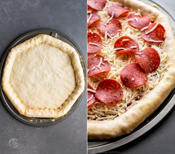 طرز تهیه خمیر پیتزای خانگی، خمیر پیتزای ایتالیایی