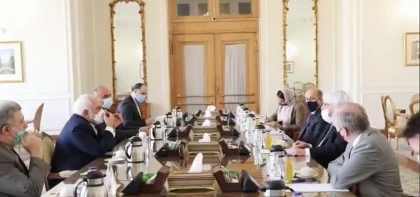 خبرنگاران ظریف با نماینده ویژه سازمان ملل در امور یمن ملاقات کرد