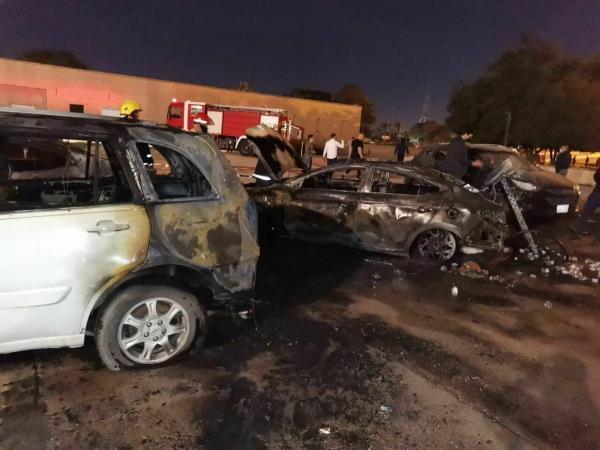 خبرنگاران جزئیات حمله راکتی به منطقه سبز بغداد