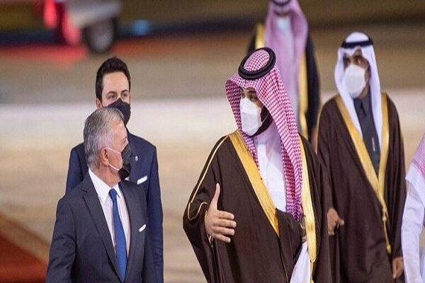شاه اردن و ولیعهد بحرین با ولیعهد سعودی ملاقات کردند