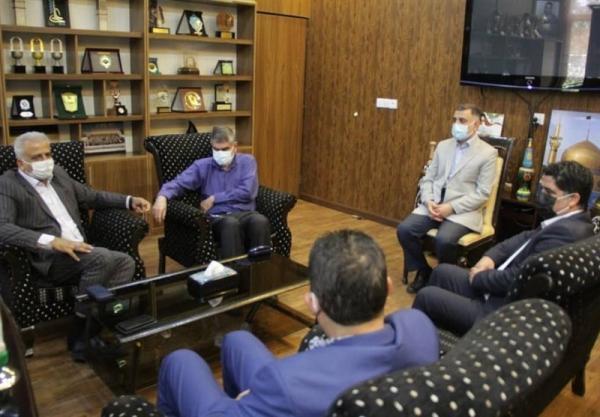 دیدار مدیرکل ورزش و جوانان تهران با سرپرست فدراسیون ورزش های زورخانه ای و کشتی پهلوانی
