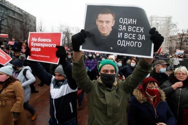 هشدار آمریکا و اروپا به روسیه درباره سلامت الکسی ناوالنی