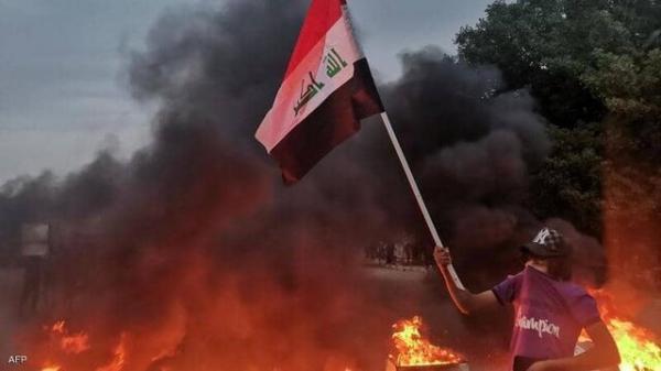 اعتراضات در الناصریه عراق