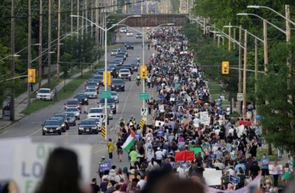 ترور یک خانواده مسلمان در کانادا؛ هزاران نفر به خیابان ها آمدند