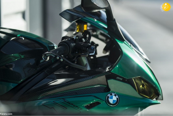 (تصاویر) موتورسیکلت خاص و جدید BMW