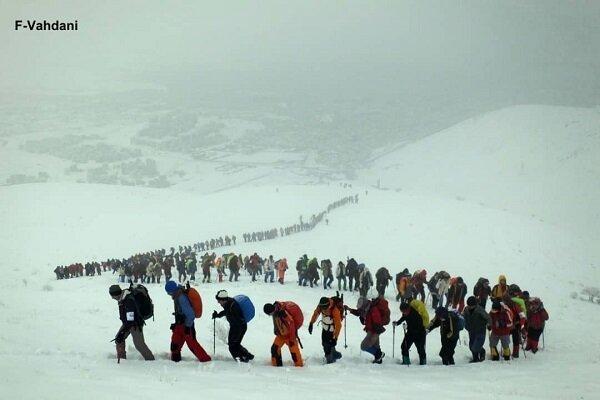 700 باشگاه رسمی کوهنوردی در کشور فعال است