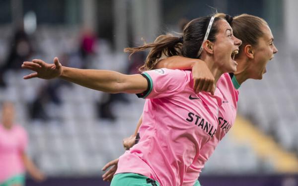 بارسلونا قهرمان لیگ قهرمانان زنان اروپا شد